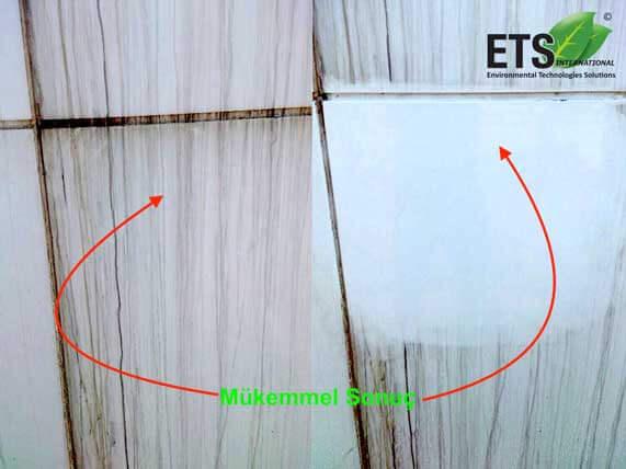 beyaz kompozit panel temizleme maddesi